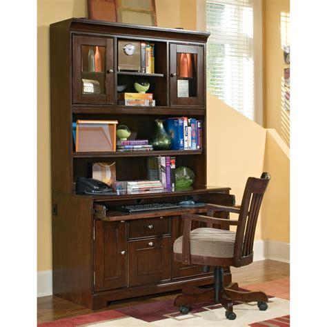 espresso computer desk with hutch riverside urban crossings 48 inch computer desk with hutch