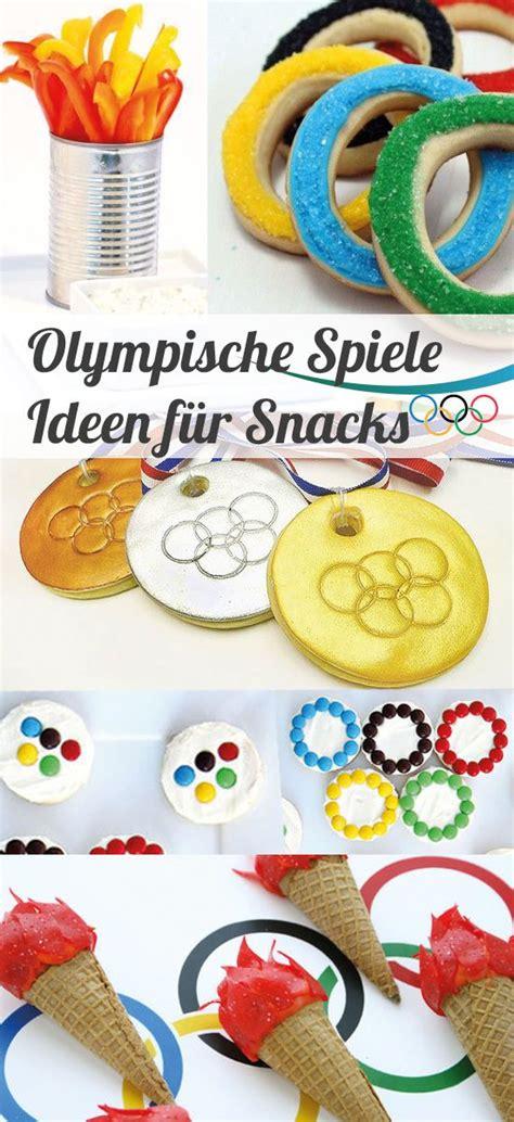 party ideen fuer die olympischen spiele olympische spiele