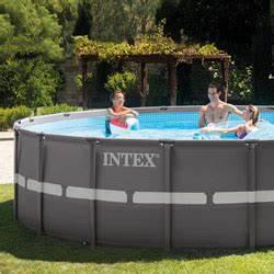 Piscine Tubulaire Ronde Pas Cher : piscine hors sol intex tubulaire et autoport e piscine ~ Dailycaller-alerts.com Idées de Décoration