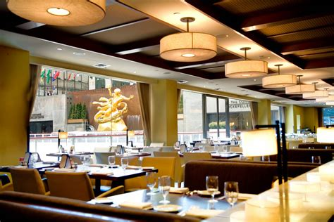 cuisine center rock center café the official guide to york city