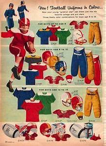 Boys NFL uniforms from the 1972 J C Penney Christmas