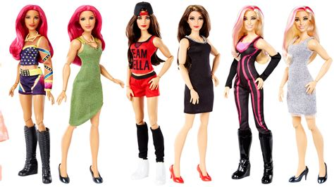 mattel wwe tag team wrestling dolls girls