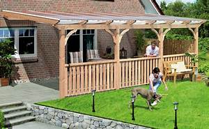 Terrassenuberdachung bauen bei hornbach for Terrassenüberdachung hornbach