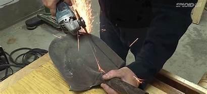 Knife Concrete Making Shovel Chunk Tweet