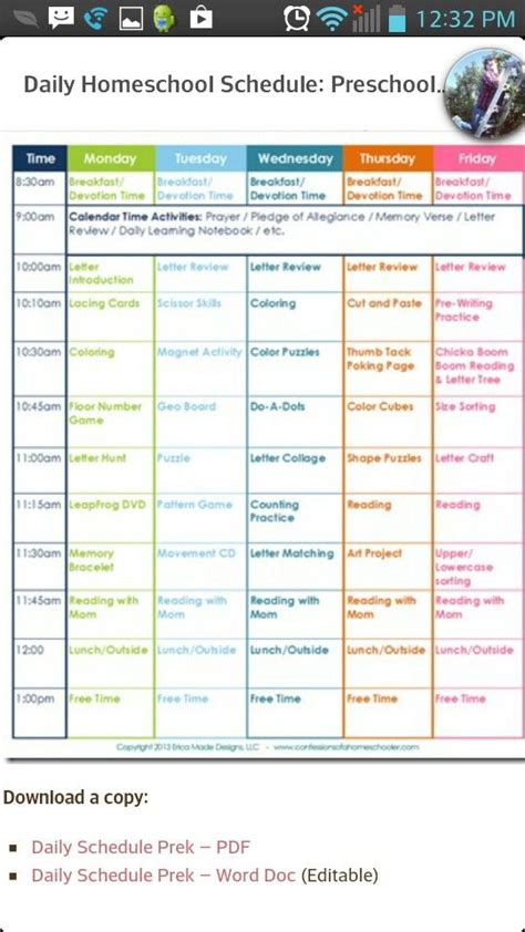homeschool schedule at home learning planning 771 | 28f91923a71a49fd2d84bb471401c1b4