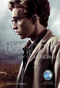 The Mortal Instruments Canada: City of Bones Character Posters