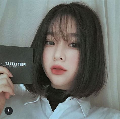 korean short hair ideas  pinterest korean