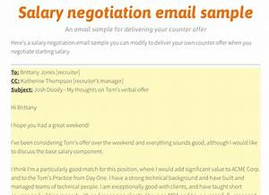 How to negotiate salary by email howstoco for Salary negotiation email template