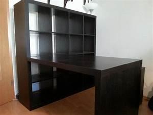 Ikea Regal Mit Schreibtisch : ikea regal schwarzbraun kaufen gebraucht und g nstig ~ Michelbontemps.com Haus und Dekorationen