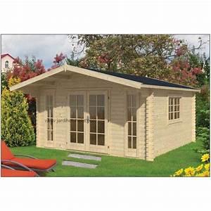 Abri De Jardin 5m2 : abris de jardin chalet de jardin en bois avec auvent 18 ~ Edinachiropracticcenter.com Idées de Décoration