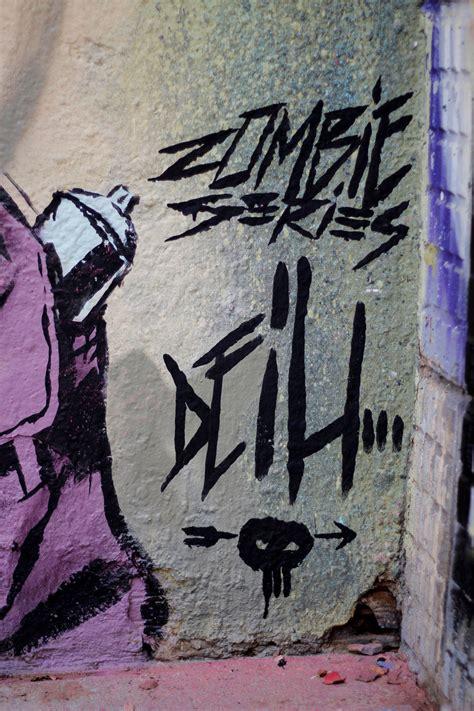 zombie graffiti mg deih valencia spain streetartnews