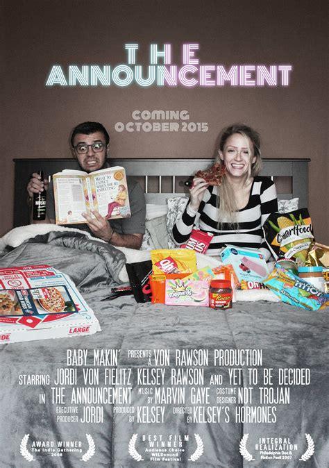 Movie Poster Kid Stuff Pregnancy Baby Announcement