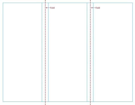 blank brochure templates   theveliger