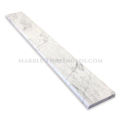 white threshold white carrara marble thresholds archives marble thresholds com