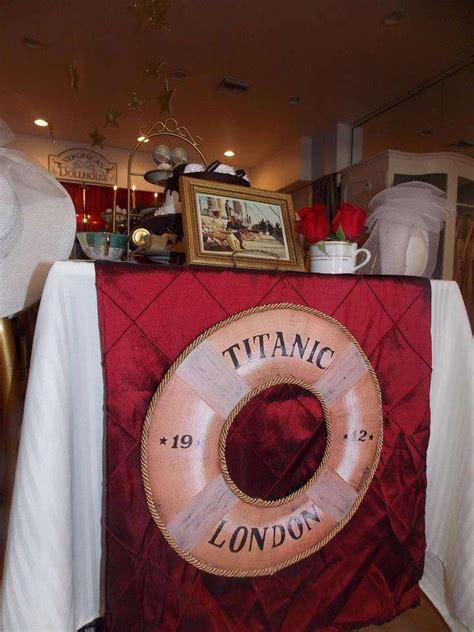 titanic tea party party ideas decor titanic prom