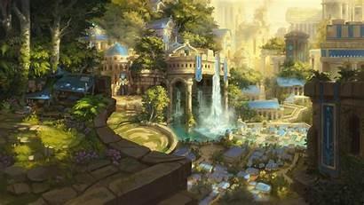 Artstation Fantasy Cities Human