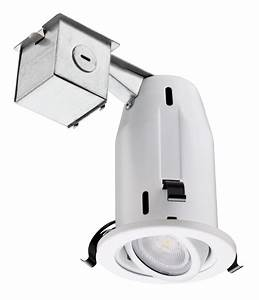 Quot gimbal led lamp kit recessed