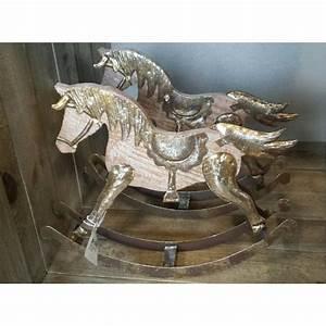 Cheval A Bascule Rose : cheval bascule no l creavea ~ Teatrodelosmanantiales.com Idées de Décoration