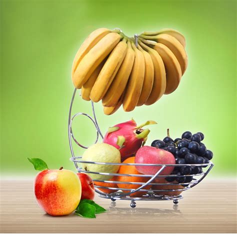 buy superior metal fruit basket banana