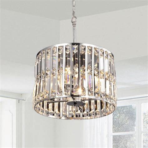glass prism chandelier justina glass prism chrome pendant chandelier