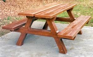 Table Bois Pique Nique : mobilier urbain tables et tables pique nique b ton lmb r f taba200f table de pique nique ~ Melissatoandfro.com Idées de Décoration