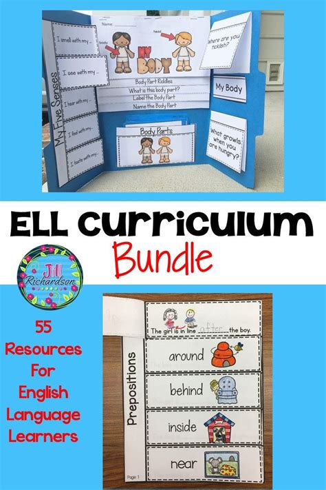english language learners esl vocabulary ell resources