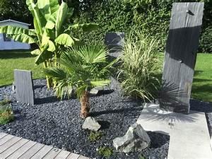 Prix Ardoise Deco Jardin : id e de parterre moderne plante pour parterre horenove ~ Premium-room.com Idées de Décoration