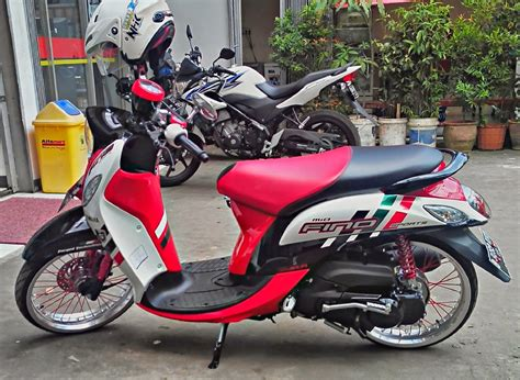 Modif Mio Sporty Velg 17 by Yamaha Mio Fino Modifikasi Velg 17 Thecitycyclist