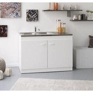 meuble cuisine avec évier intégré meuble sous evier avec evier integre achat vente pas