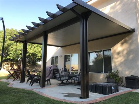 Patio Kits by Alumawood Insulated Roofed Patio Cover Patiocovered