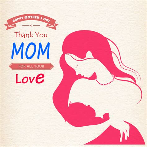 mom hold baby happy mother day  vector  adobe