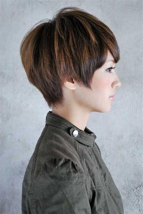 pixie haircut  face asian hair