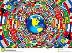 Bandiere del mondo illustrazione di stock Illustrazione
