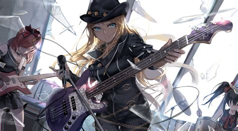 Anime Guitar Wallpaper - bibi rock to you hd wallpaper background image