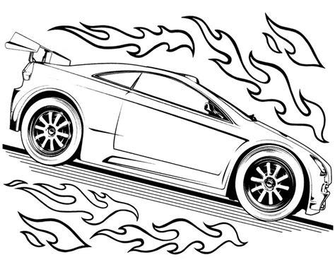 Kleurplaat Wheels wheels track race two car wheels coloring page