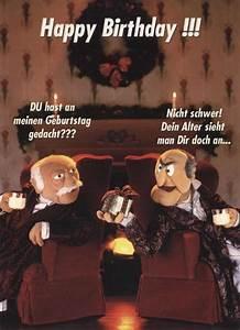 Männer Geburtstag Bilder : lustige postkarte muppet show happy birthday postkarten ~ A.2002-acura-tl-radio.info Haus und Dekorationen