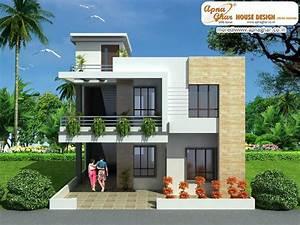 Modern Duplex House Design