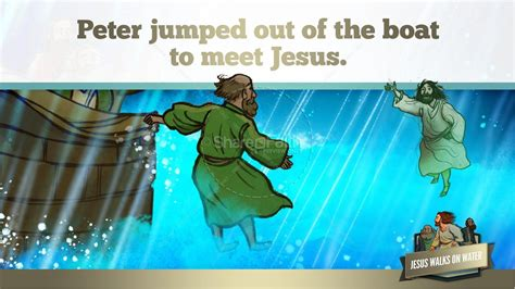 Bible Story Jesus Walks On Water