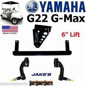 Yamaha Golf Cart G22 Gmax Jakes 6 U0026quot  Lift Kit  6255  Free