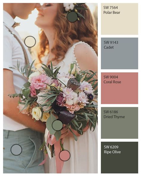 it s more than just one day discover the colors used in your wedding palette to paint your