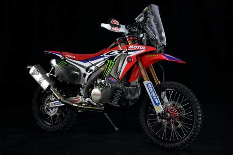honda crf racing cafè honda crf 450 rally team monster energy honda