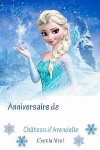 Joyeux Anniversaire Reine Des Neiges : diy affiche anniversaire reine des neiges frozen reine ~ Melissatoandfro.com Idées de Décoration