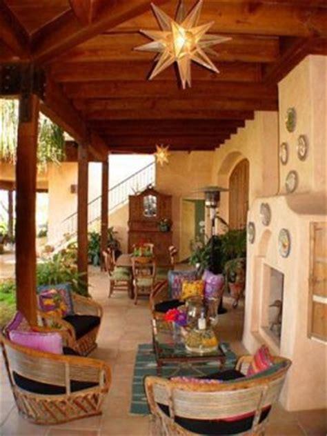the blue porch ideas adobe mexico