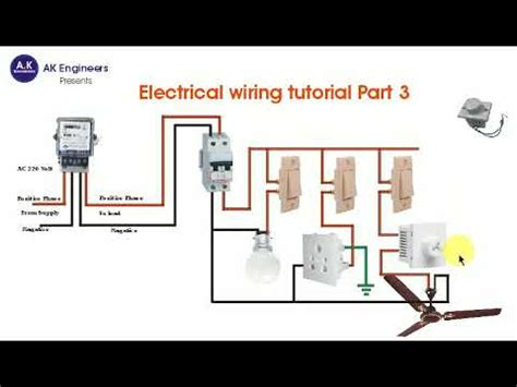 electrical wiring tutorial part 3 switchboard