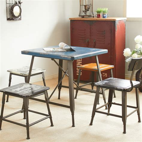 the new mining loft iron retro dessert cafe table and