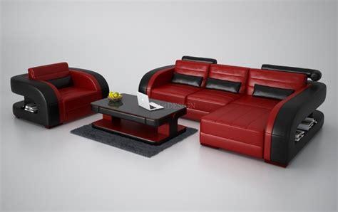 canape cuir 3 2 places canapé d 39 angle en cuir avec fauteuil assorti italien