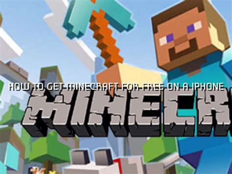 how to get minecraft for free on iphone how to get minecraft for free on a iphone by sawyer