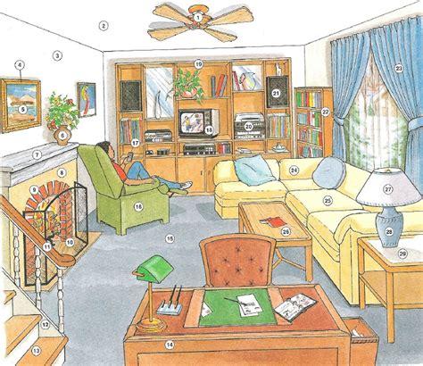 living room dictionary vocabulario en ingles de la casa parte 2 sala y ba 209 o