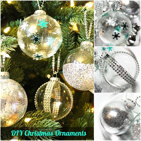 decorating clear plastic christmas ornaments   Design