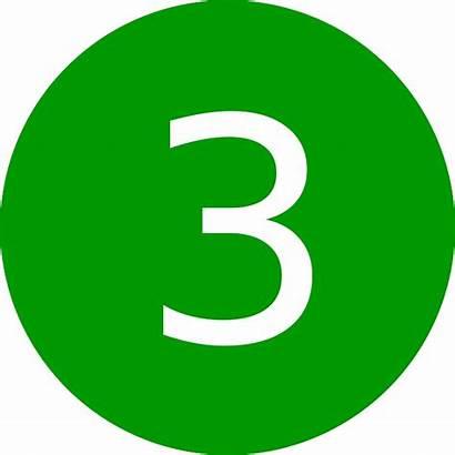 Three Number Pixabay Symbol Graphic Vector 3rd